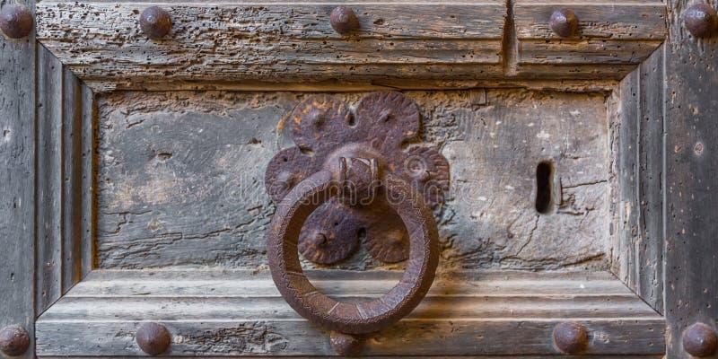 Batedor de aço antiquado, fechar imagem de stock royalty free