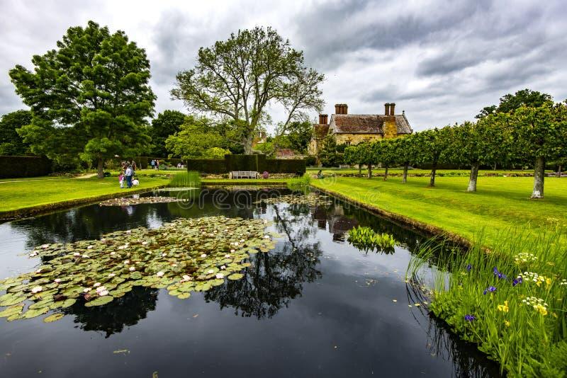 Bateman - дом Редьярд Киплинга автор стоковая фотография