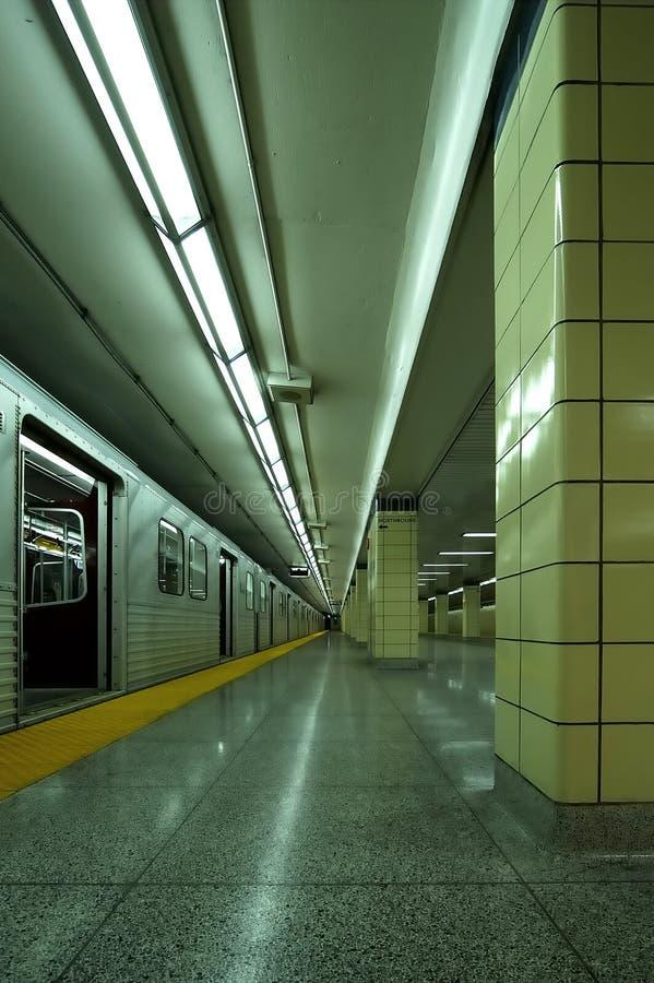 Batente de Vert do metro fotos de stock