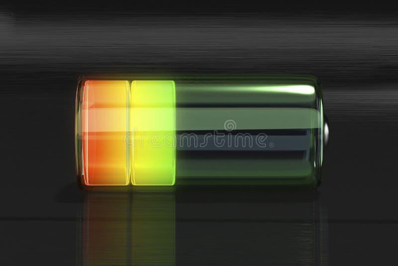 Batería ilustración del vector