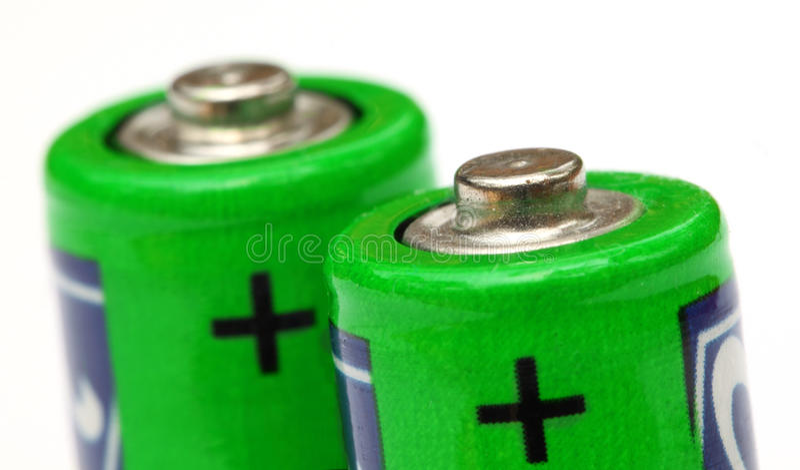 Batería fotos de archivo libres de regalías