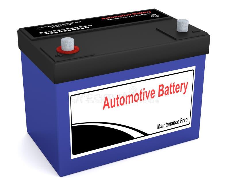 Batería auto stock de ilustración