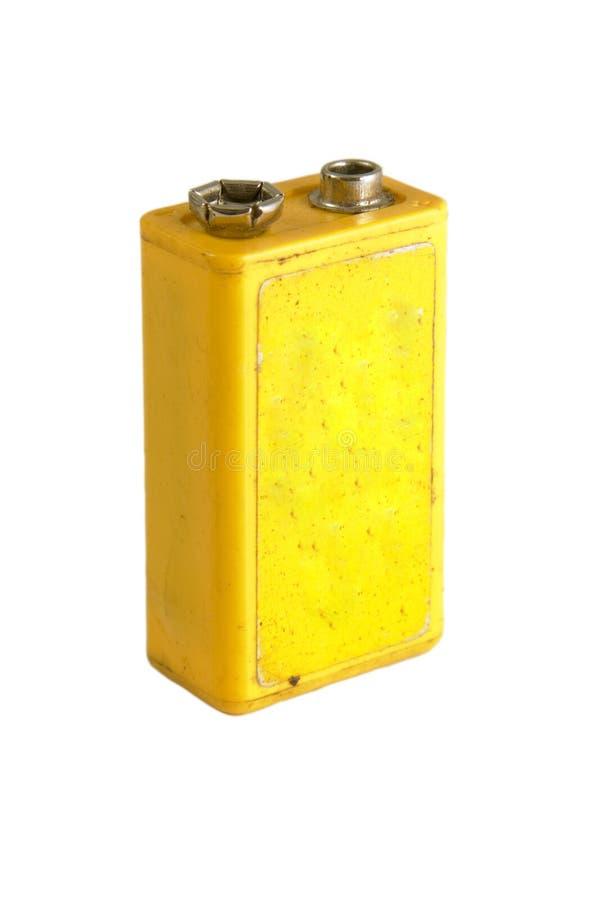 batería de 9 voltios imagenes de archivo