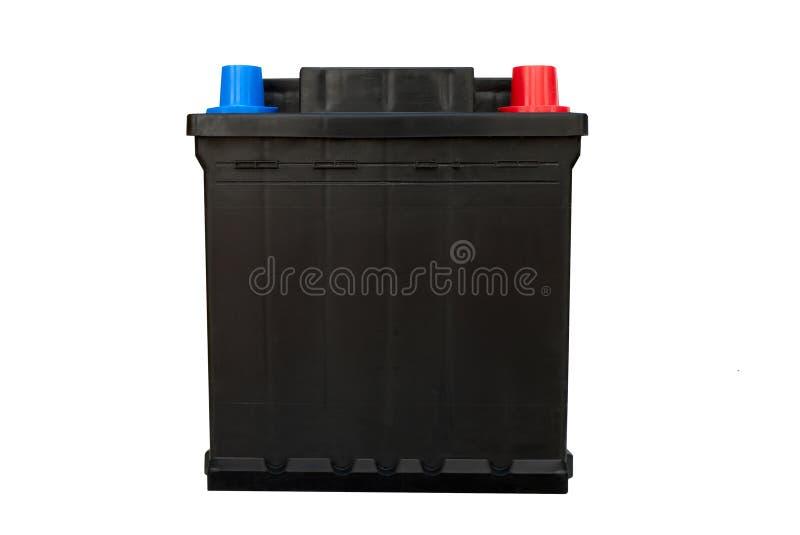 Batería de coche - aislada fotografía de archivo