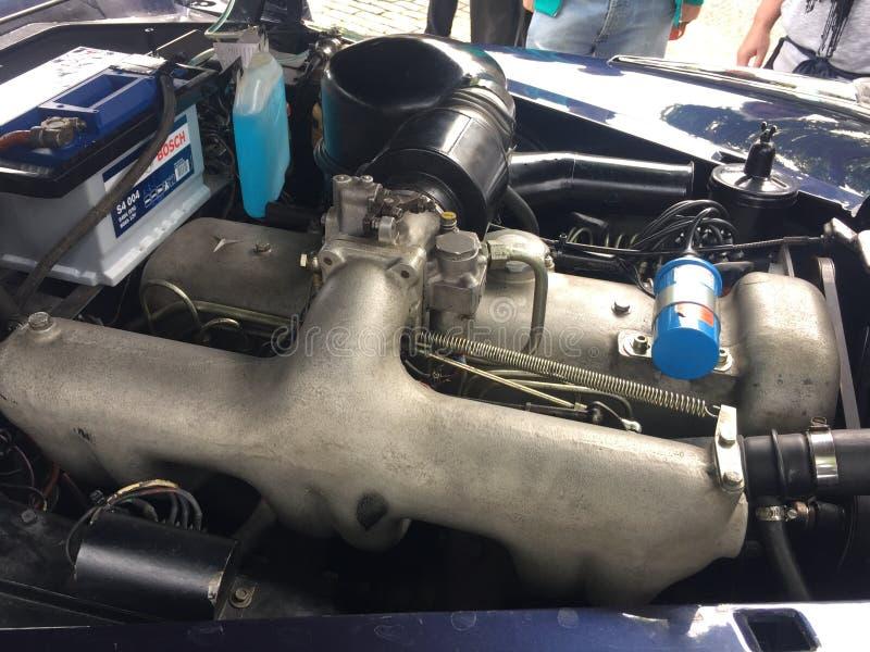 Batería de coche de Bosch imágenes de archivo libres de regalías