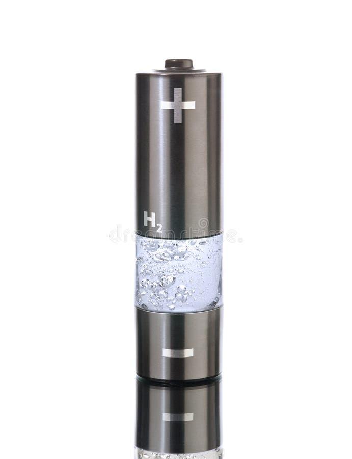 Batería del AA del hidrógeno (R6) imagen de archivo