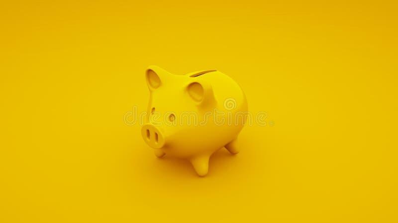 Batería guarra amarilla ilustración 3D libre illustration