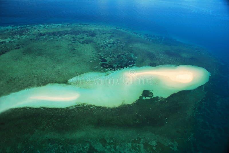 Batería Mozambique de la arena de la isla del Ibo foto de archivo libre de regalías
