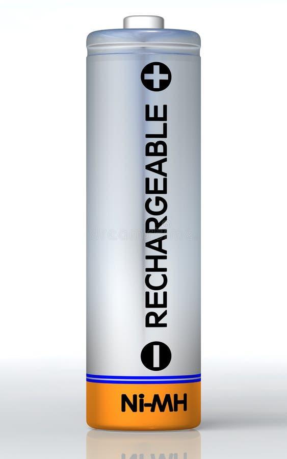 Batería recargable stock de ilustración