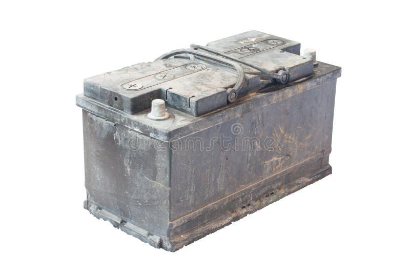 Batería usada fotografía de archivo libre de regalías