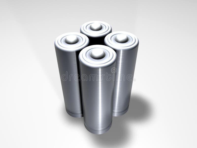 Download Baterías 2 stock de ilustración. Ilustración de baterías - 192198