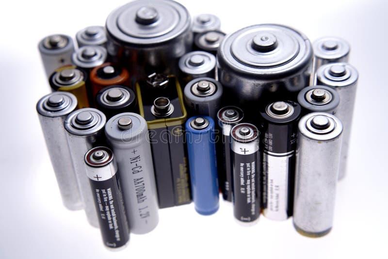 Baterías imagenes de archivo