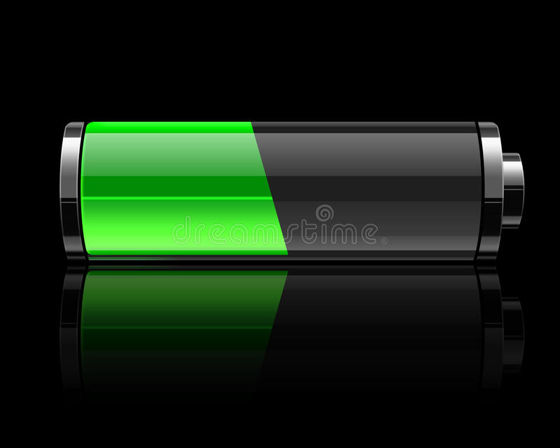 bateria ilustracja wektor