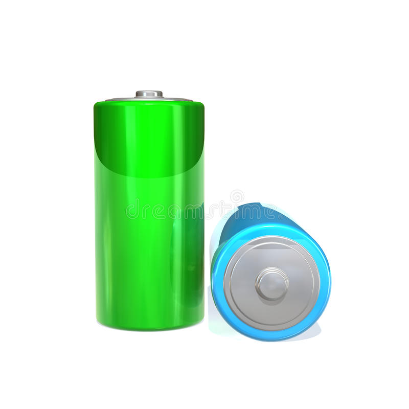 Bateria ilustração do vetor