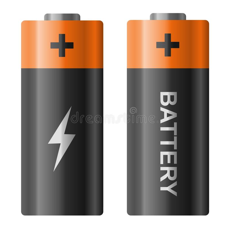 bateria royalty ilustracja