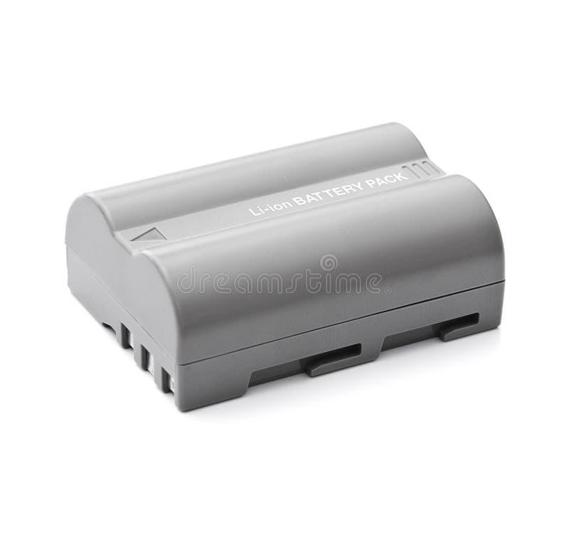 Bateria da câmera imagem de stock