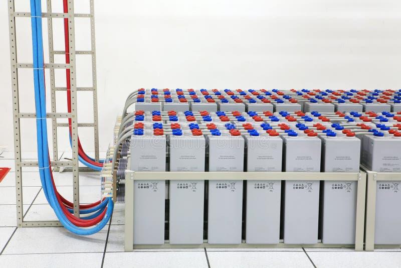 A bateria de armazenamento imagem de stock