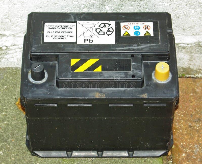 Bateria de carro imagens de stock
