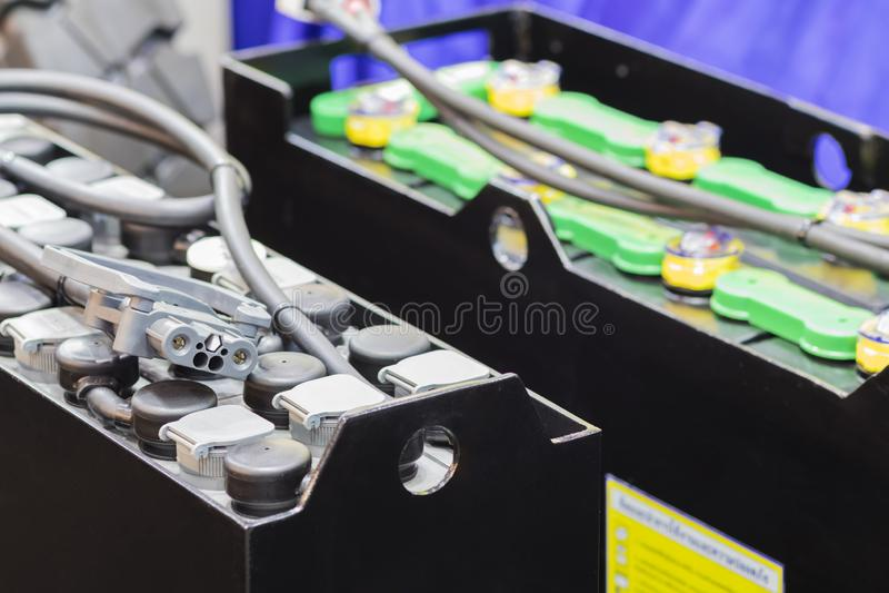 Bateria de Industial para a empilhadeira/vehecle/o automotivo fotos de stock