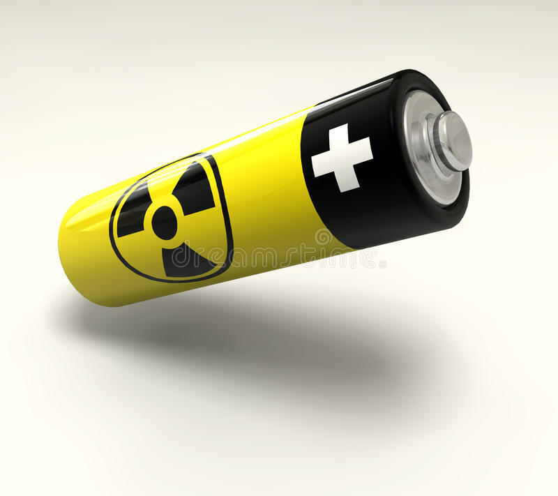 bateria jądrowa ilustracja wektor