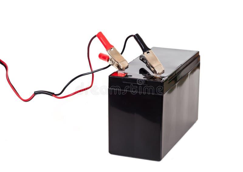 Bateria selada isolada no branco fotos de stock royalty free