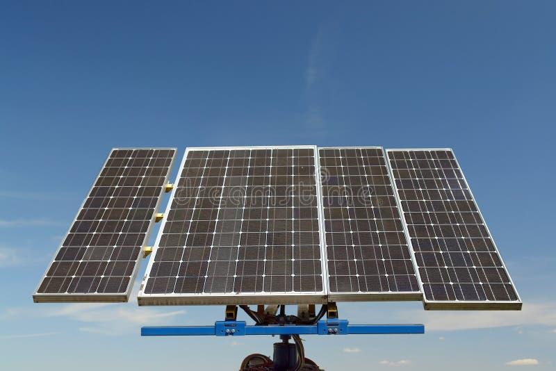 Bateria solar fotos de stock