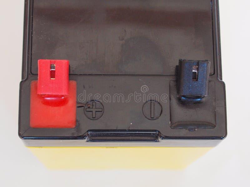 bateria 12V foto de stock