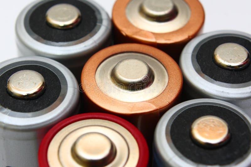 baterie fotografia stock