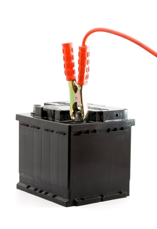 bateryjnego samochodu skoku początek obrazy stock