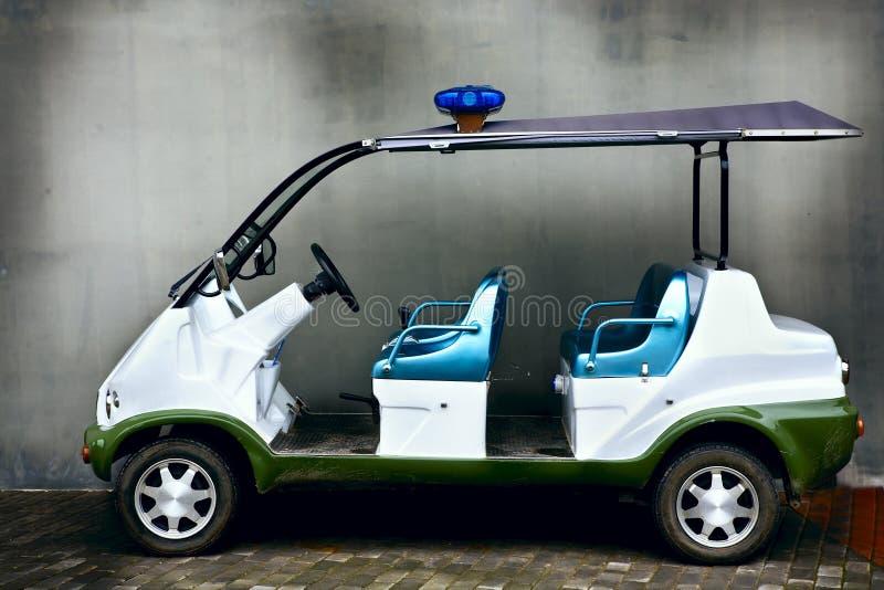 bateryjny samochód obraz royalty free