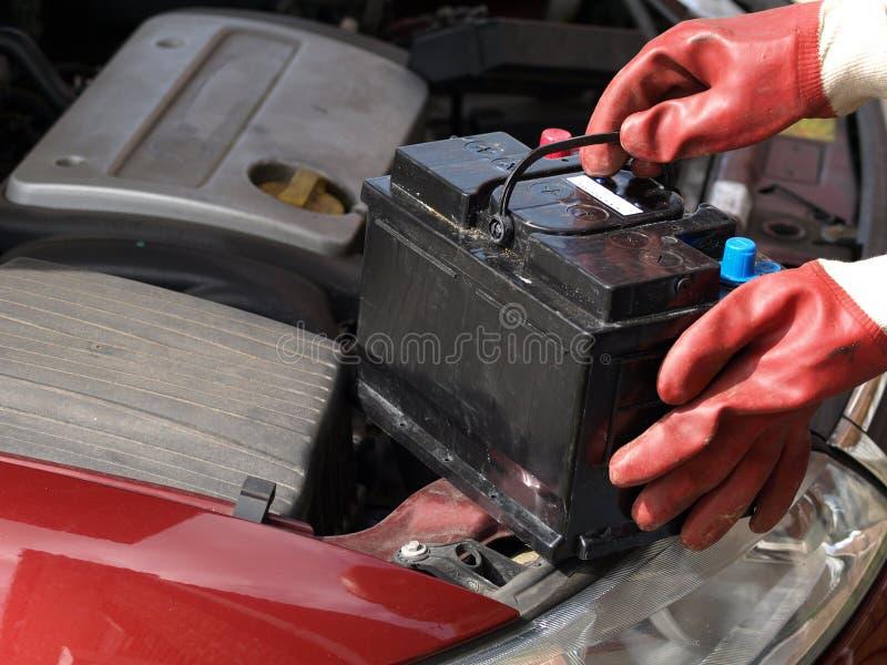 bateryjny samochód zdjęcie royalty free