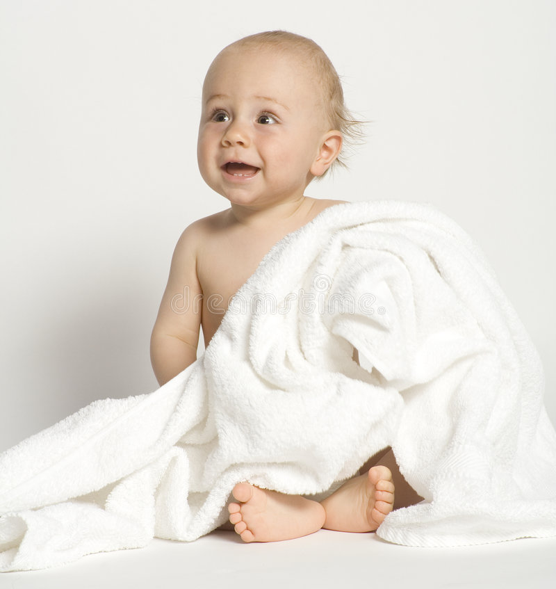 After bath royalty free stock images