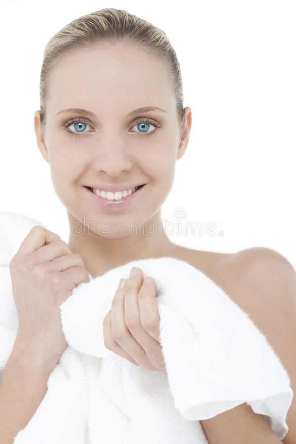 After bath royalty free stock photo