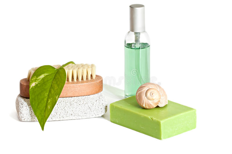 Bath Accessories Stock Photo