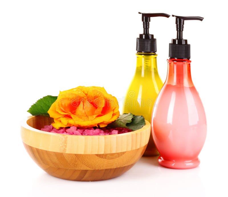 Download Bath aromatic salt stock photo. Image of healthcare, bowl - 18959048