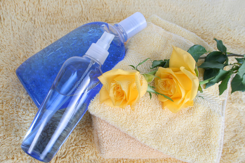 Bath and bodycare royalty free stock images