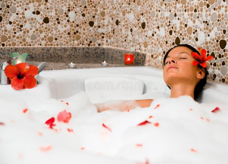 Bath de bulle photos stock
