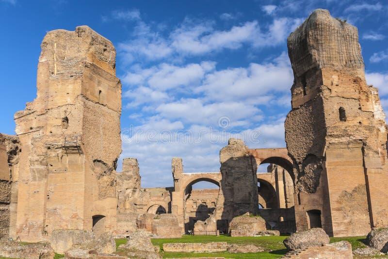 Bath de Caracalla image libre de droits