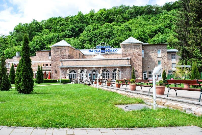 Bath de caverne de Miskolc-Tapolca en Hongrie image libre de droits