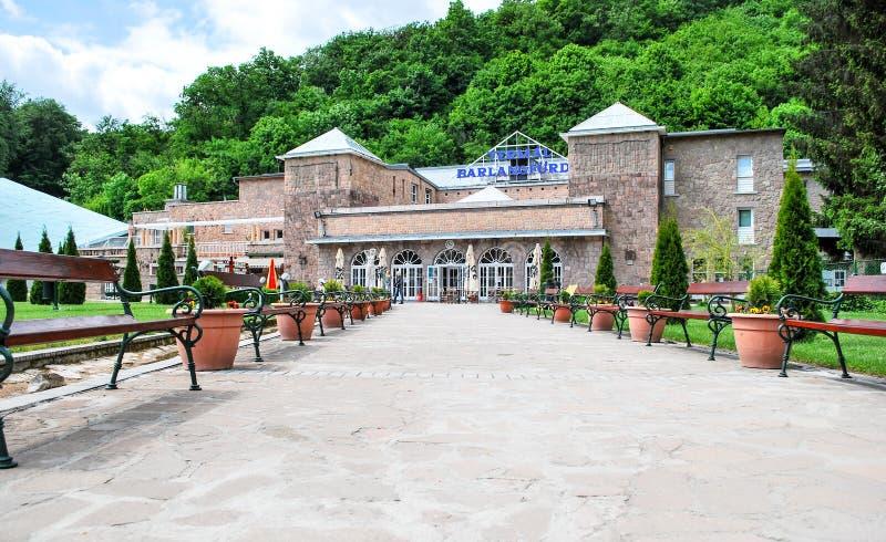 Bath de caverne de Miskolc-Tapolca en Hongrie image stock