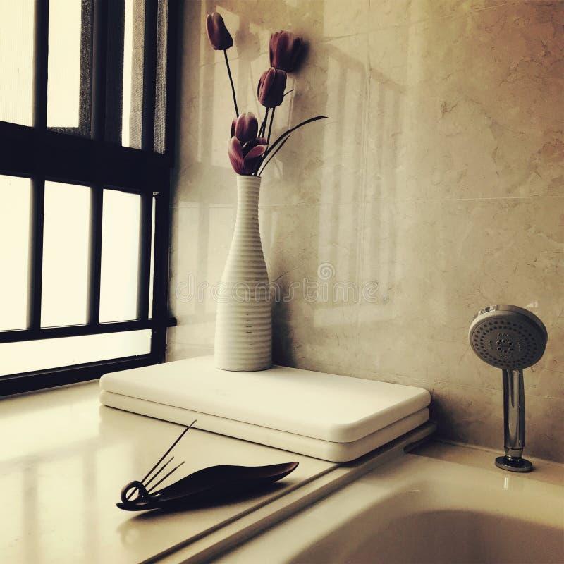 Bath de détente photo libre de droits