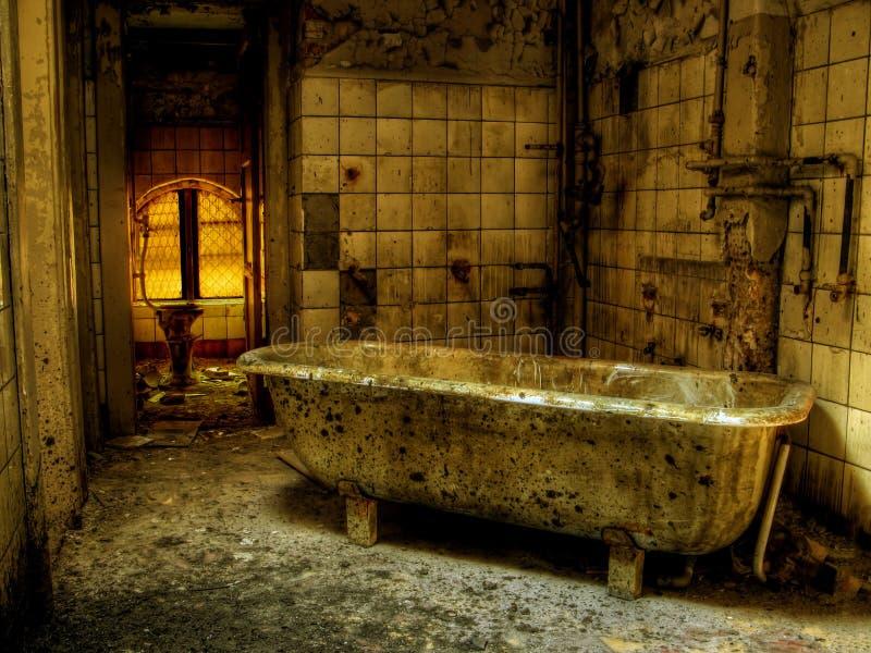 Bath de peste images libres de droits