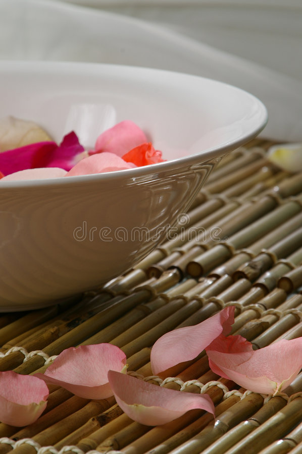 Bath de Rose image stock