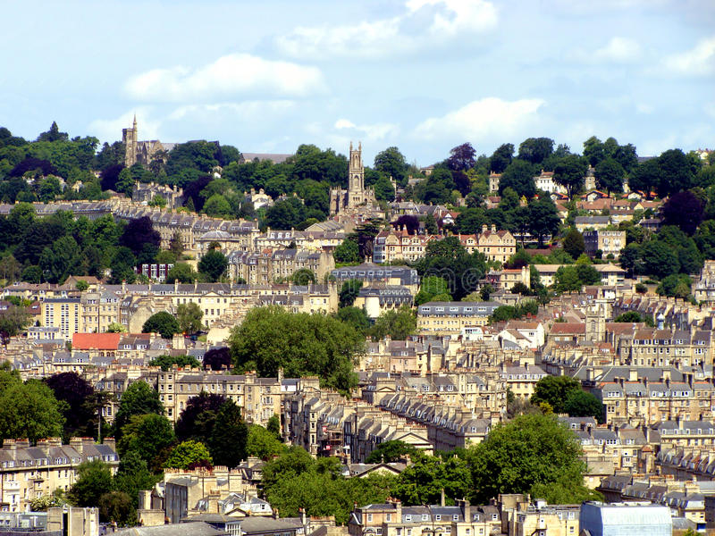 Download Bath, England stock photo. Image of english, rooftops - 17485500