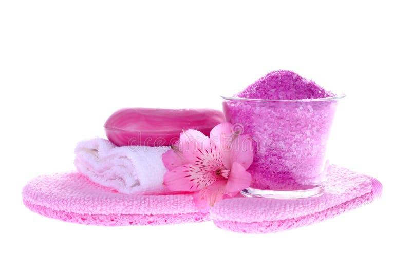Bath essentials royalty free stock photography