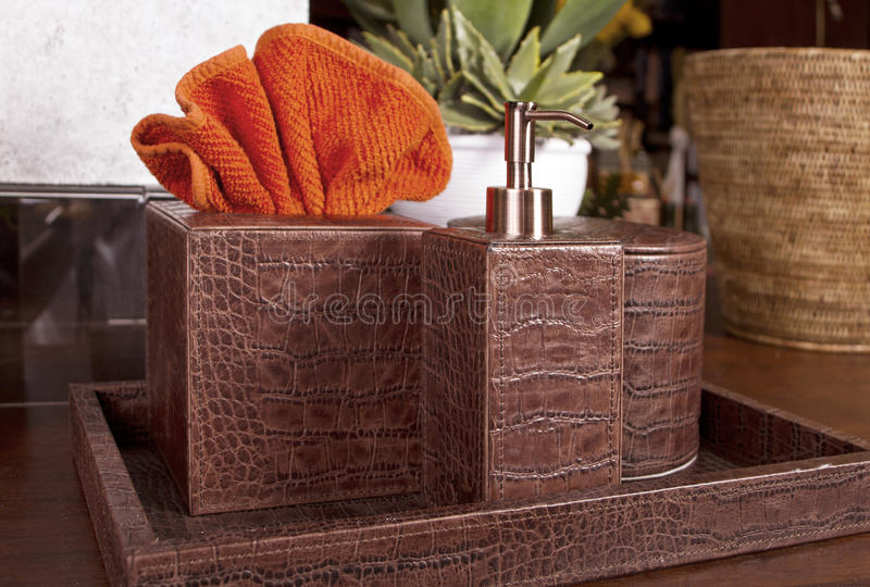 Bath Essentials Boutique Royalty Free Stock Photo