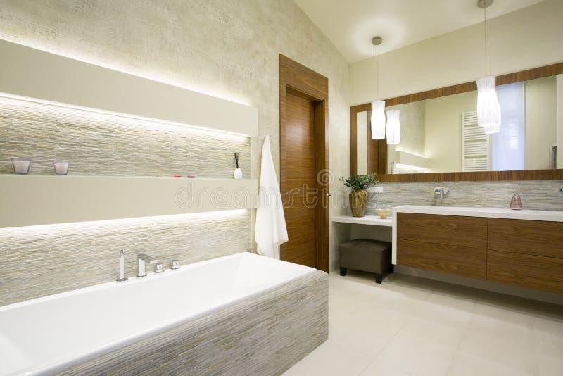 Bath et lavabo photos libres de droits