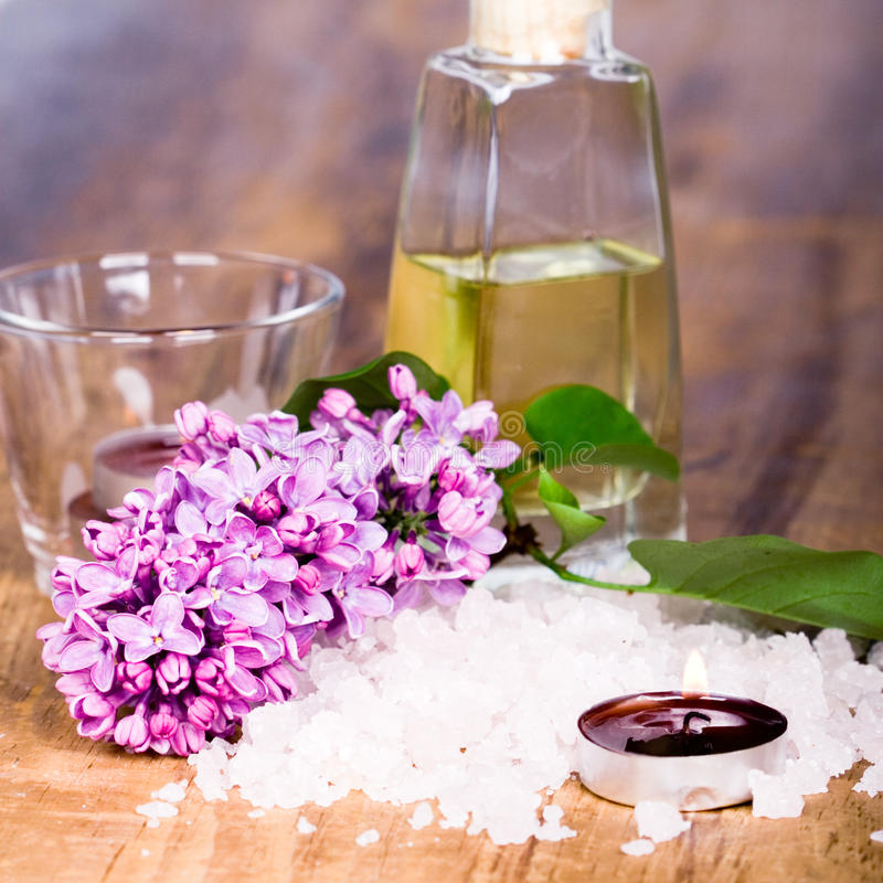 bath items spa στοκ εικόνες