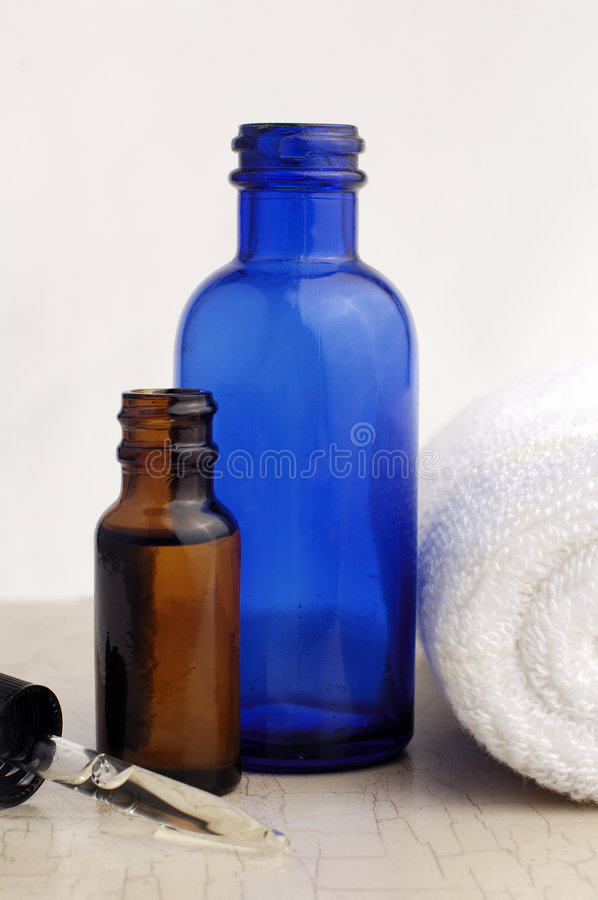 Bath Oils stock photo