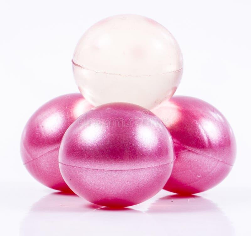 Bath oll balls stock photo